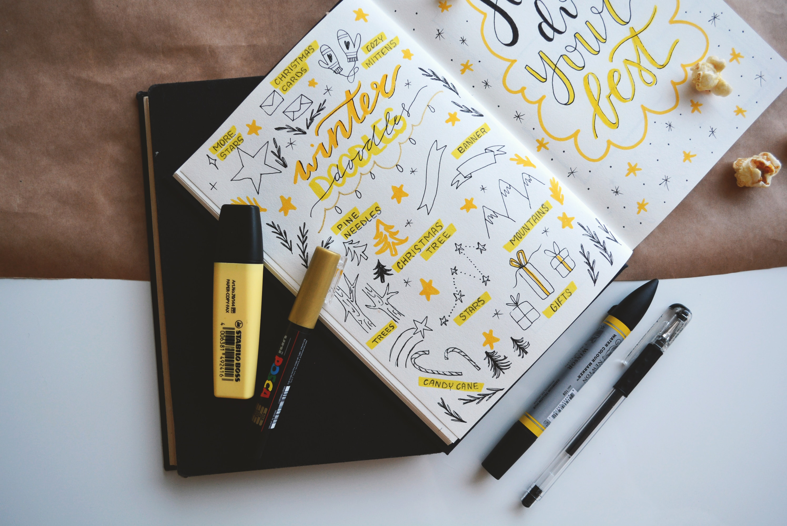 notes bullet journal